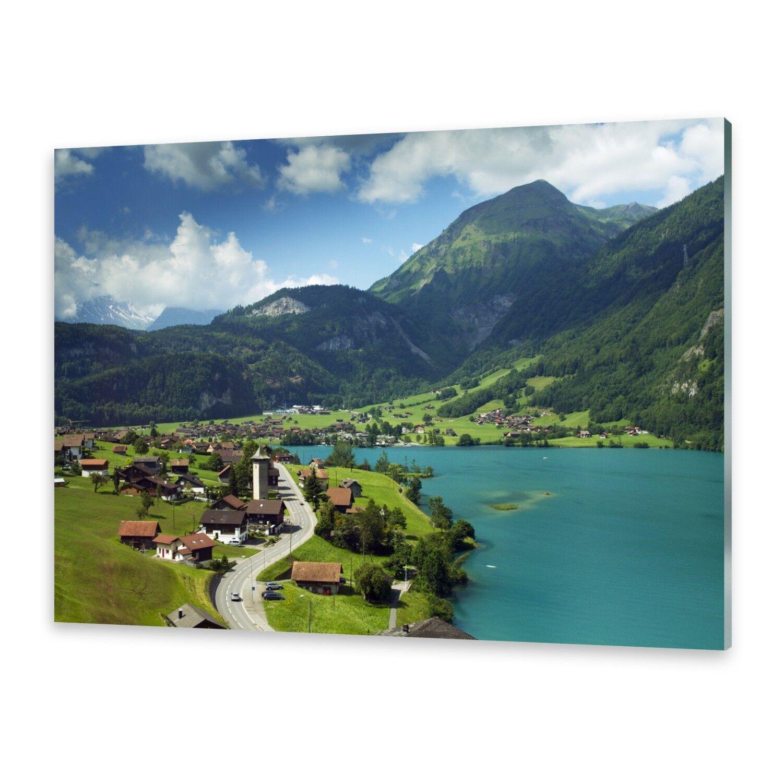 Acrylglasbilder Wandbild aus Plexiglas® Bild Lungern, Schweiz