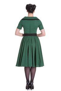 Hell-Bunny-Mimi-Polka-Dot-Dress-Rockabilly-Retro-Pin-Up-Vintage-Inspired-50s