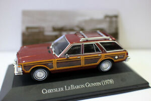 1-43-Scale-Diecast-Model-Car-CHRYSLER-LEBARON-GUNYIN-1978-FOR-COLLECTION