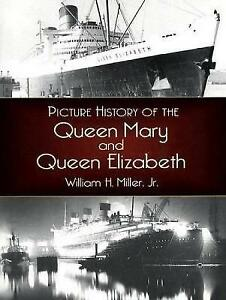 Picture-History-of-the-Queen-Mary-and-the-Queen-Elizabeth-by-Miller-William-H