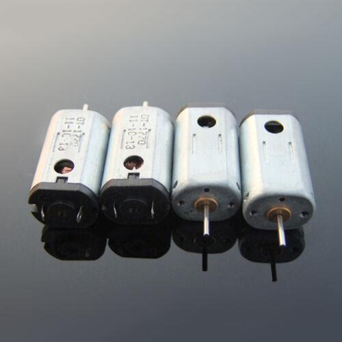 4PCS N30 DC3V 3.7V 23800RPM High Speed Strong Magnet Micro Carbon Brush DC Motor