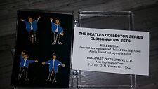 Beatles Cloisonne Pin Set Help Edition Only 450 Made
