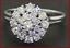Elegant-1-31ct-VS1-G-Stunning-Diamond-Cluster-Cocktail-Ring-14K-White-Gold-Sz-8 thumbnail 10