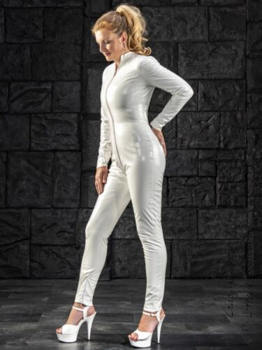 Lackcatsuit Hauteng Xs Glossy White Vinyl 3258 Size Overall drxBeoC