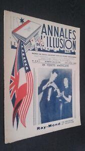 Las Anales ILUSIÓN N º 6 & 7 París 1945 ABE