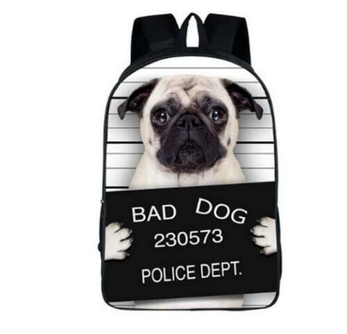 Funny Animals Son Girls Boys Children School Bags For Teenagers Backpacks