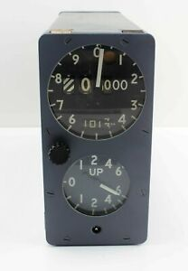 Height-amp-Rate-Climb-Indicator-Altimeter-Blackburn-Buccaneer-0104KHB01-6TD0285005