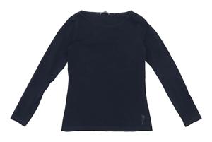 Marc-O-Polo-Womens-Size-14-Cotton-Blend-Blue-Long-Sleeve-T-Shirt-Regular