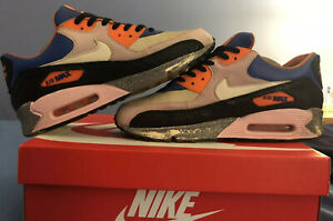 "Búsqueda heroína tenga en cuenta  Nike Air Max 90 OG ""King Of The Mountain"" KOTM Size 10 Bacon Infrared Volt  1 95 