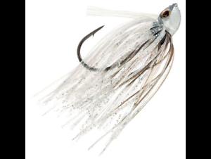 CHARTREUSE SHAD CUSTOM SWIMMING 3//8 OZ FISHING JIGS