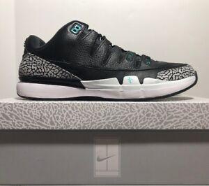 online retailer 39451 956b3 Details about Nike Zoom Vapor Air Jordan 3 RF Atmos Black/ Clear Jade Size  15 - 709998-031