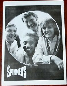 The-Spinners-Folk-Group-Noel-1975-GB-Tour-Programme
