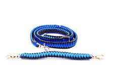 Firefighter Ems Police Paracord Radio Strap Sling 60 With 13 Stabilzer Blue