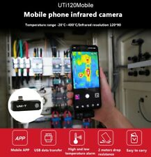 Thermal Imaging Camera Phone For Android Usb C Detect Water Pipe Floor Heating