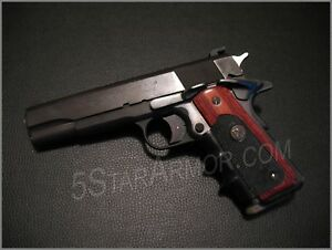 Details about Pachmayr (ROSEWOOD) American Legend Grips Fits Full size COLT  1911 Government