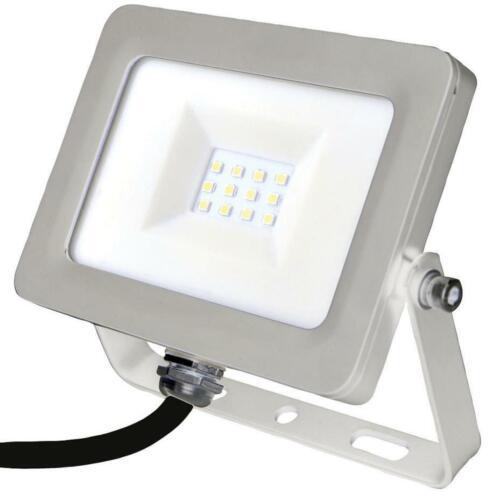 10W Slim LED Floodlight PRO ELEC 6000K 800 Lumens