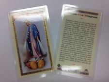 HOLY PRAYER CARDS FOR ORACION A LA MILAGROSA SET OF 2 IN SPANISH