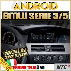 AUTORADIO-8-8-034-Android-Quad-Core-BMW-SERIE-3-5-E90-E60-320-520-Navigatore-GPS
