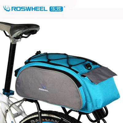 Bike Rear Rack Trunk Bag Bicycle Luggage Bag Accessories Gear Bag Pack MTB BMX