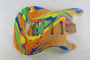 Alder-SSS-guitar-body-fits-Fender-Strat-Stratocaster-neck-Floyd-Rose-J168