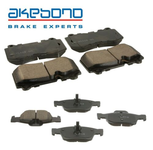 For Mercedes CL550 W221 S550 R230 SL Class Front /& Rear Brake Pad Sets Akebono
