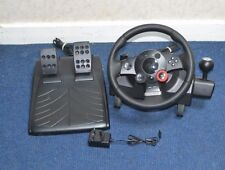 Logitech Driving Force GT Racing Steering Wheel + Pedals For PC,PS2,PS3