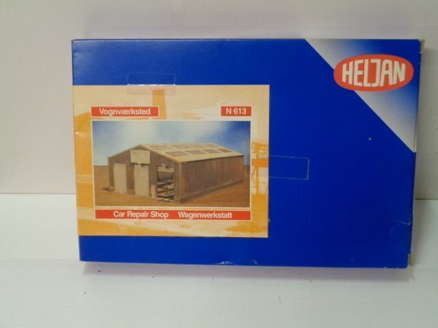 Heljan repair N 613 carri officina car repair Heljan Facility Kit Traccia N, N Scale, TOP, 1 160 c29ca8