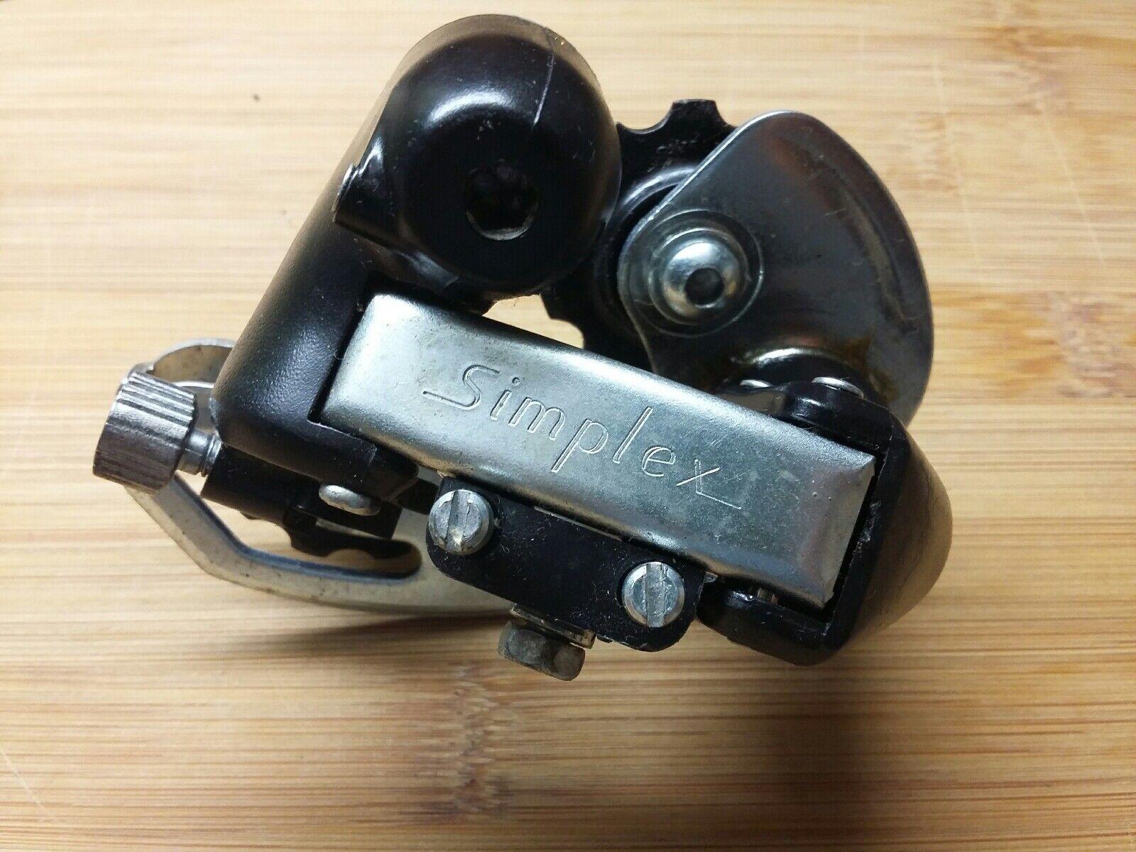 Simplex S007T Schaltwerk 6-fach NOS Neu Vintage Selten Peugeot Rear Derailleur