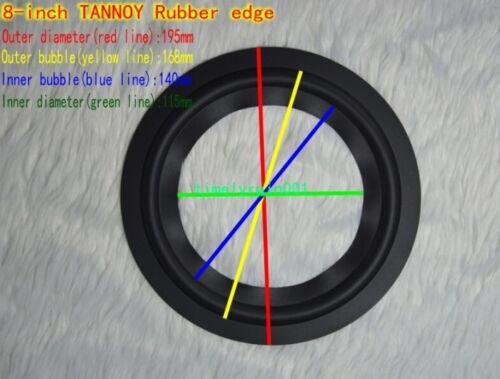 """1pcs 6.5//8//10/"""" inch Speaker rubber Edge Speaker surround repair For TANNOY"""