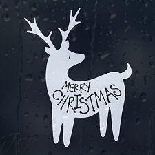 Funny Merry Christmas Dear Car Decal Vinyl Sticker