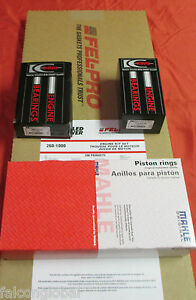 Ford 302//5.0 Engine Rering Kit Rod//Main Bearings+Piston Rings+Gaskets 12//82-86*