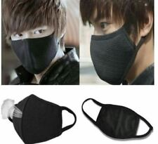 New Black Health Cycling Anti-Dust Cotton Mouth Face Respirator (Women,Man) Mask