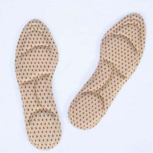Sports Insoles Shoes Pad Silicone Soft Breathable Absorb Sweat Shoe Inserts DD