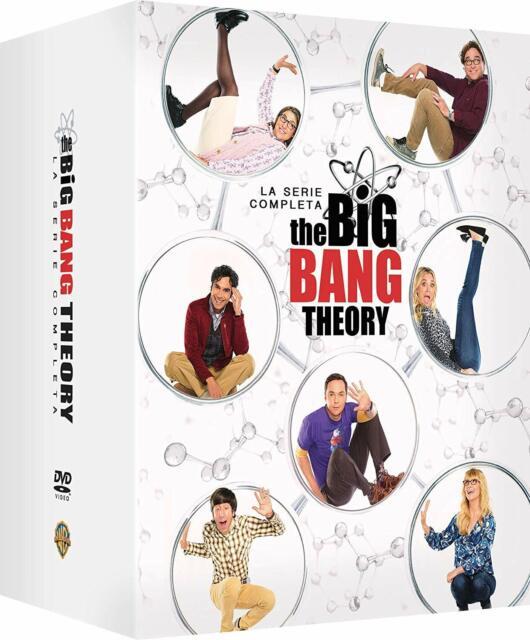 THE BIG BANG THEORY - SERIE COMPLETA - STAGIONI DA 1 A 12 (37 DVD) COF.UNI. ITA.
