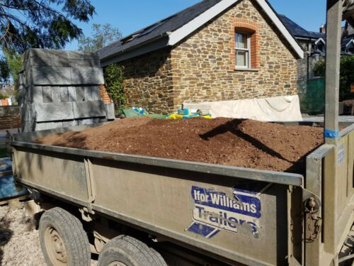 Delivered in Plymouth Devon Free Top Soil