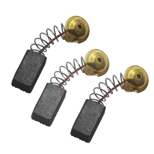 5 Paar Kohlebürsten 6.5x7.5x12.5mm für Elektromotor Ersatz