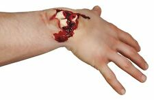 Halloween Fake Wound Injury Latex Wound Double Bone Fracture Make Up Fancy Dress