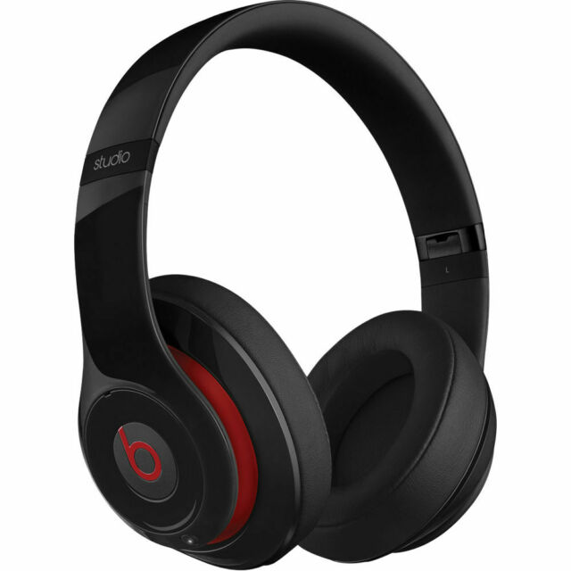 27d67ee9ad0 Beats by Dr. Dre Studio 2 Wired Over Ear Headphones Noise Cancellation -  Black