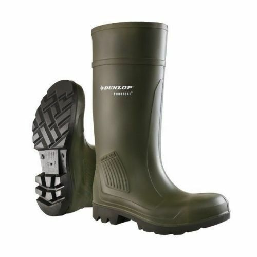Dunlop Purofort Professional Full Safety Wellington Boots Various Sizes