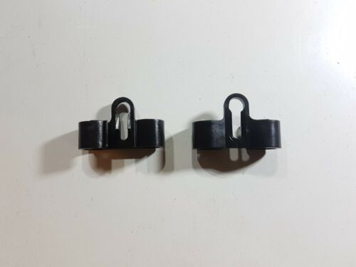 """5 X FORD GRANADA PETROL PIPE CHASSIS CLIPS FUEL LINE TWIN 8mm 5//16/"""" MK1 MK2 2.8"""