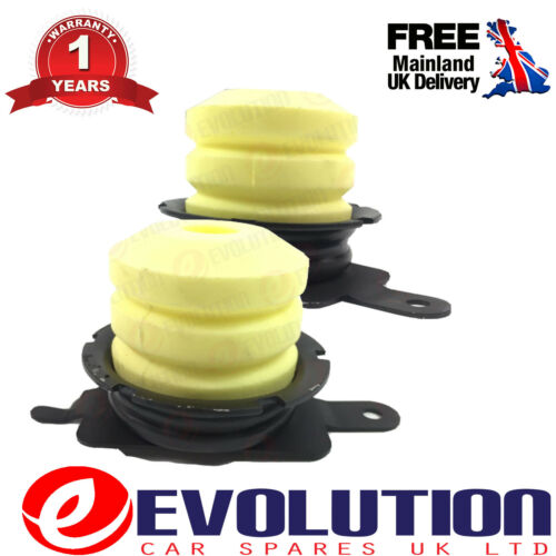 4355664 2 X REAR LEAF SUSPENSION BUMP STOP RUBBER BUFFER FITS FORD TRANSIT MK6