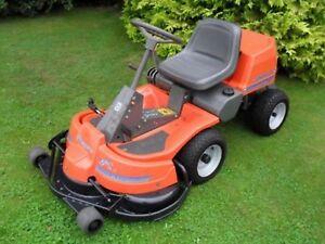 image is loading husqvarna rider garden tractor ride on mower workshop - Husqvarna Garden Tractor