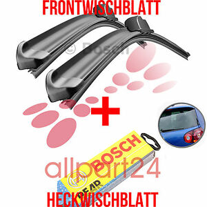 Bosch-AR601S-H352-Complete-Set-Front-Rear-Windshield-Wipers-New-amp-Vintage