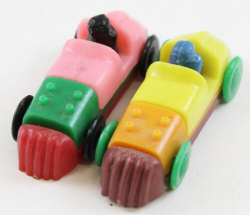 """Colourful Pair of MultiColor Plastic Roadsters"""
