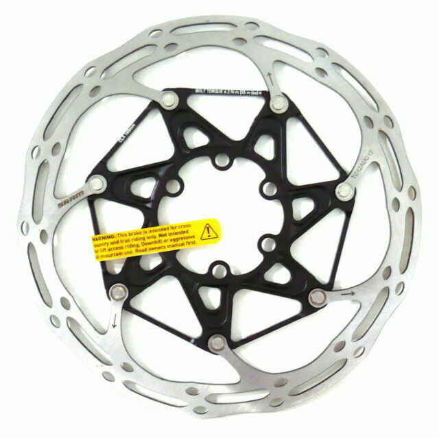 180mm, CenterLine X 6-Bolt Disc Rotor SRAM Centerline X Disc Brake Rotor