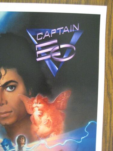 """Collector/'s Poster Print Captain E O B2G1F Vintage Disney 11/"""" X 16-1//4/"""""""