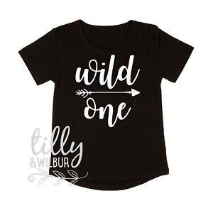 aea27aae Wild One Boys 1st Birthday T-Shirt, I Am One Boys Birthday Shirt ...