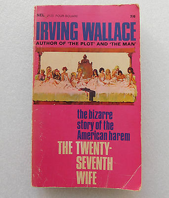 The Twenty-Seventh Wife Irving Wallace book Mormon polygamy Brigham Young 27th