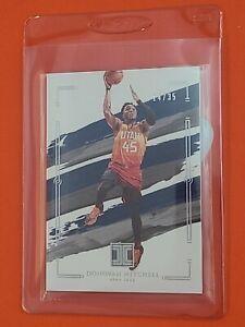 Donovan Mitchell 2020-21 Panini Impeccable Basketball /35 Utah Jazz