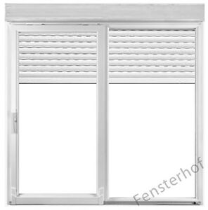 schiebet r balkont r fenster elektrischer rolladen 2000x2200 mm drutex ebay. Black Bedroom Furniture Sets. Home Design Ideas